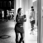 Shopwindow Light – Portrait Shooting